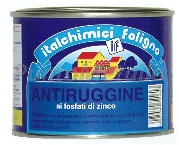 ANTIRUGGINE AI FOSFATI DI ZINCO ML 500 COL. BIANCO