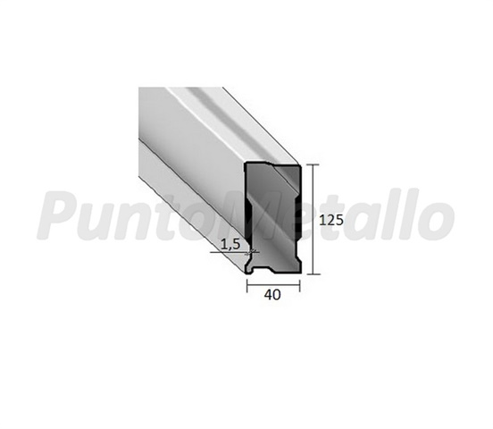 TERMINALE VARIABILE CS T.V. 150X40 MM